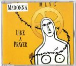 LIKE A PRAYER (Yellow) - UK / GERMANY CD SINGLE (1)
